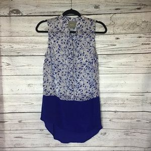 ANTHROPOLOGIE; MAEVE SLEEVELESS TOP SIZE 4